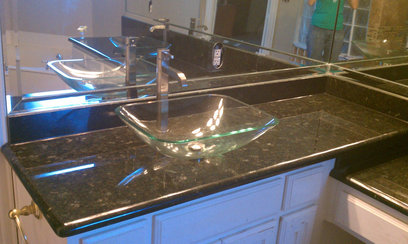 Master bath countertop remodel dallas tx relevant homes for Bath remodel dallas tx